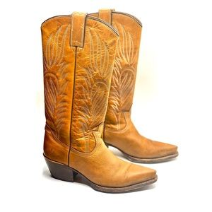 {Steve Madden} Leather Cowgirl /Cowboy Boots